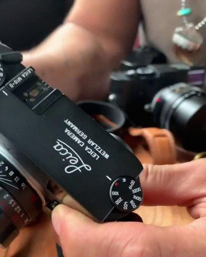 Jason Momoa a présenté sa collection impressionnante d'appareils photo Leica et a rendu les photographes jaloux