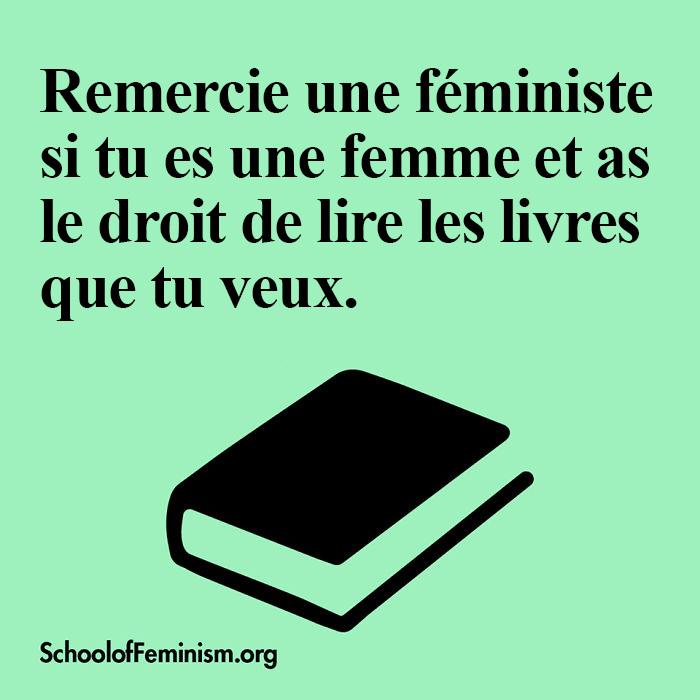 21 affiches qui montrent les raisons pour lesquelles les femmes devraient «remercier une féministe»