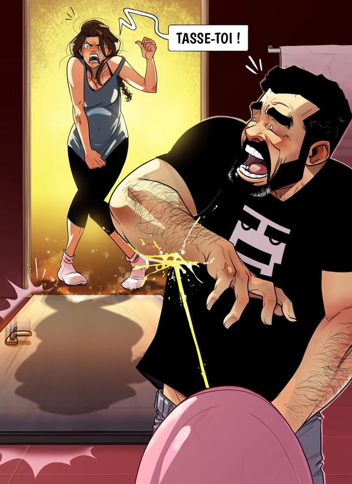 10 bandes dessinées amusantes par Yehuda qui présentent leurs luttes à lui et sa femme maintenant qu'elle est enceinte