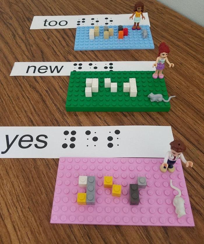 LEGO dévoile des briques en braille pour les enfants aveugles et malvoyants