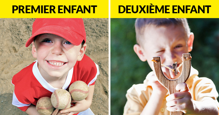 Les scientifiques confirment que le deuxième enfant est plus indiscipliné que le premier et les parents sont d'accord