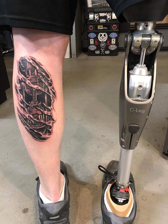 33 tatouages 3D les plus épiques de tous les temps