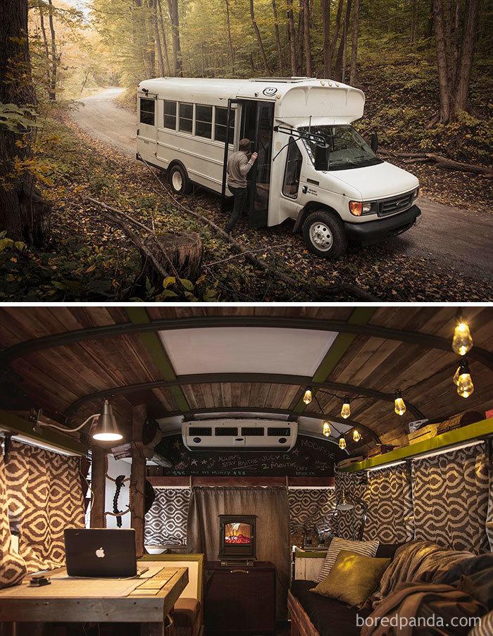 22 transformations les plus épiques de camionnettes et autobus