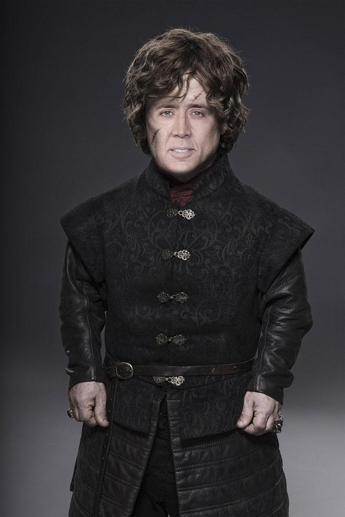 Si Nicolas Cage jouait tous les personnages dans Game of Thrones (31 images)
