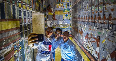 Des archéologues ont découvert une tombe de 4000 ans en Égypte et on dirait qu'elle vient juste d'être peinte