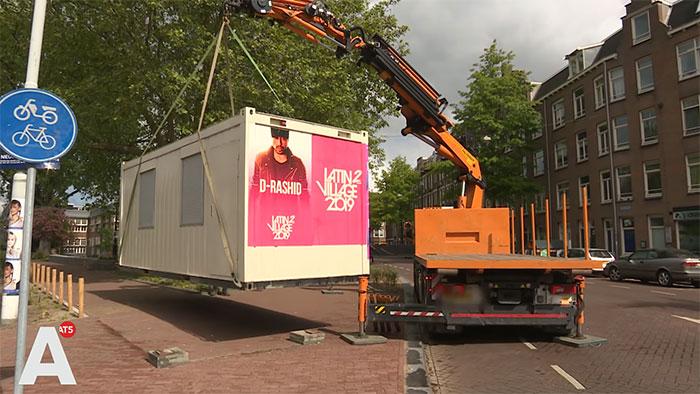 Un homme est arrivé à Amsterdam et a découvert que son Airbnb était en fait un conteneur maritime