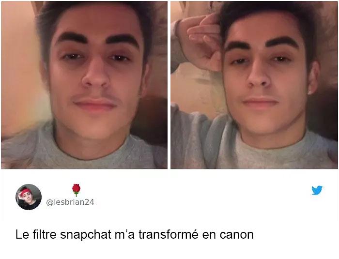 17 personnes qui ont essayé le plus récent filtre Snapchat pour changer de genre et ont été surprises par les résultats