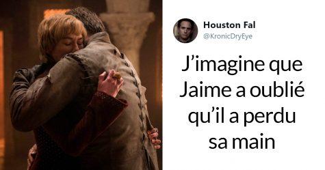 Game of Thrones a encore échoué en oubliant que Jaime n'a pas de main