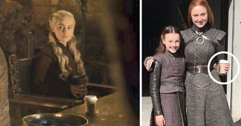 HBO a répondu au gobelet de café laissé dans la scène de Game of Thrones et a dit que ce n'était pas Starbucks