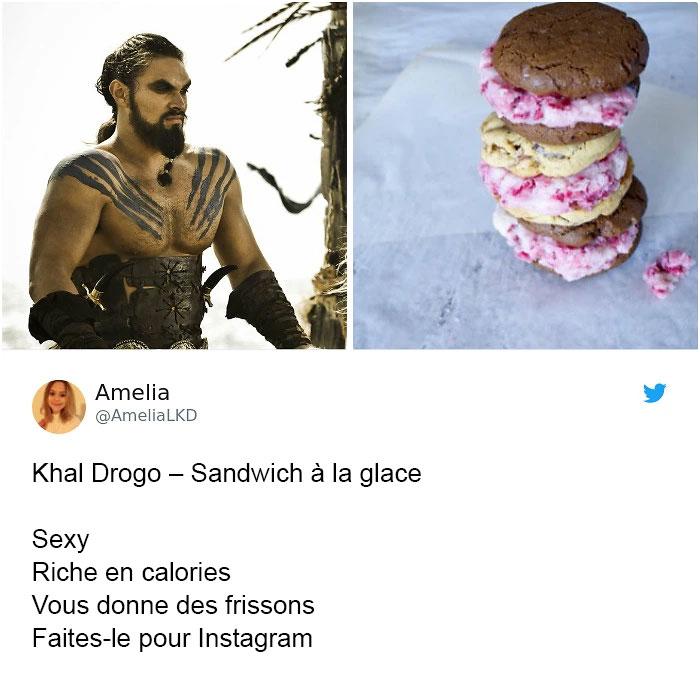 Quelqu'un a réinventé les hommes de «Game of Thrones» en sandwichs et ils sont exacts