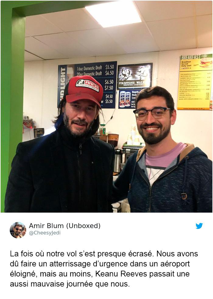 Keanu Reeves est le nouveau visage de la gamme pour hommes de Saint Laurent et les internautes adorent