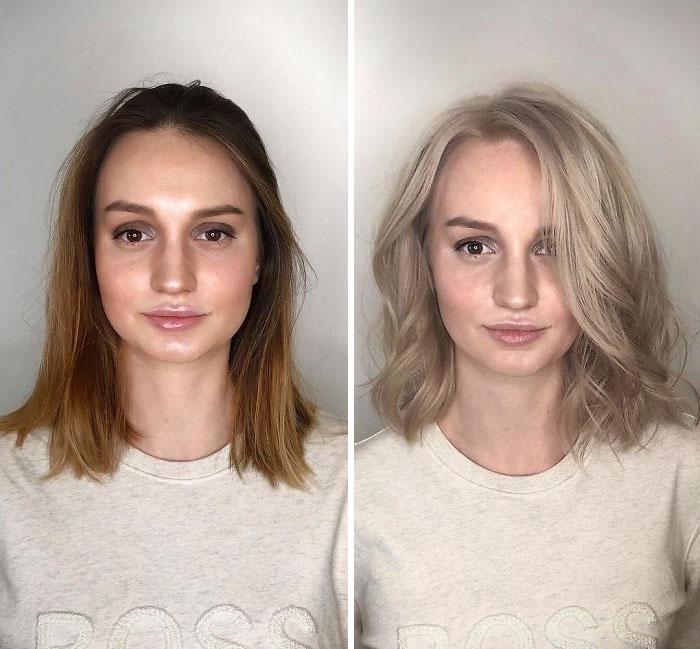 22 transformations par un coiffeur biélorusse