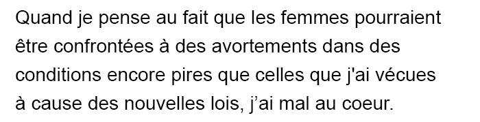 Milla Jovovich a partagé son histoire «horrible» sur l'avortement et a exhorté les gens à s'opposer aux nouvelles lois