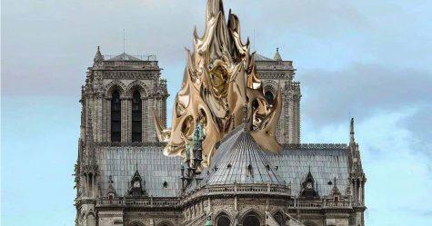 17 artistes ont suggéré des plans de reconstruction de la cathédrale Notre-Dame de Paris