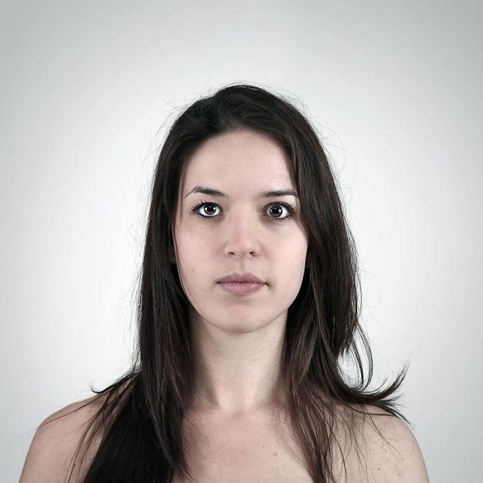 Ces «portraits génétiques» côte à côte de membres de la famille montrent à quel point l'ADN de la famille est fort (24 images)