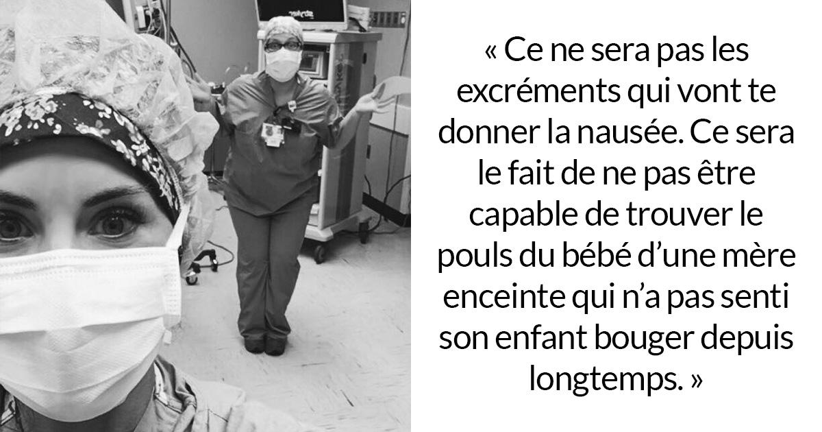 «Vous allez vous habituer au caca» : une infirmière révèle les situations déchirantes qui leur donnent la nausée