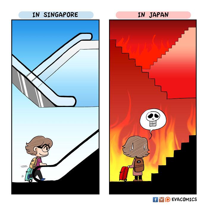 Je montre les différences culturelles entre le Japon et les autres pays (22 images)