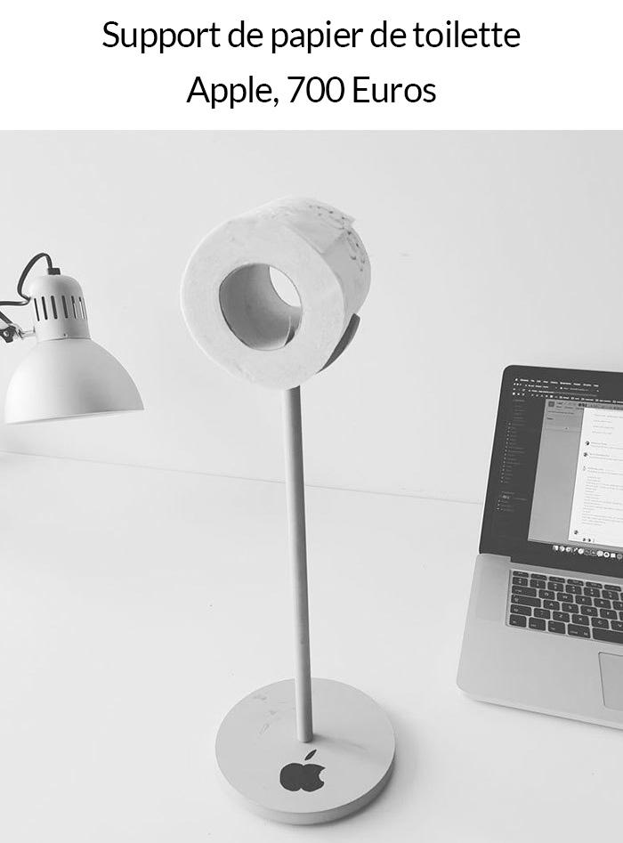 11 meilleures blagues sur le nouveau Mac et le support de moniteur à 999$ d'Apple