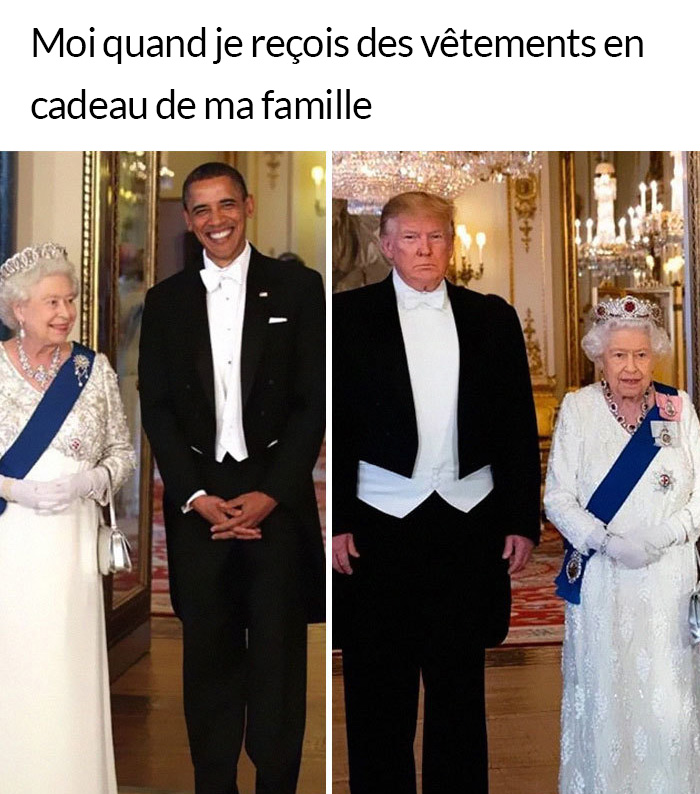 14 meilleures blagues sur la visite de Trump au Royaume-Uni