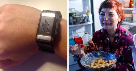 Ce bracelet d'Amazon te donne un choc si tu manges trop de fast-food ou dépenses trop d'argent