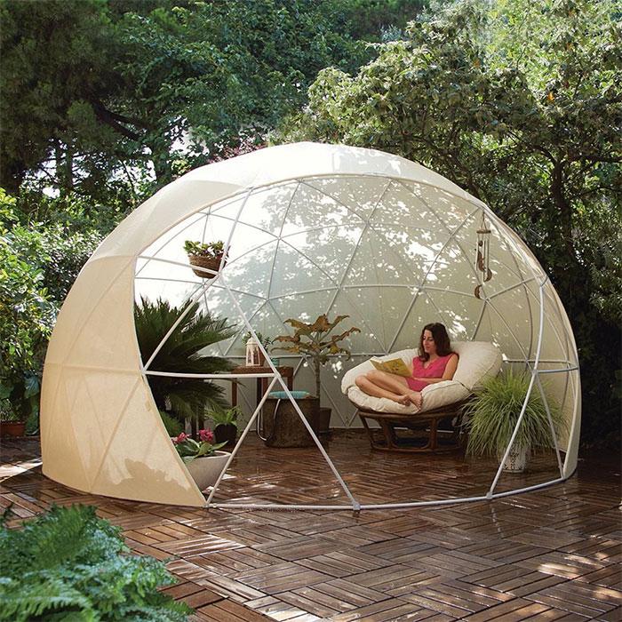 Amazon vend maintenant un igloo que tu peux assembler dans ton jardin