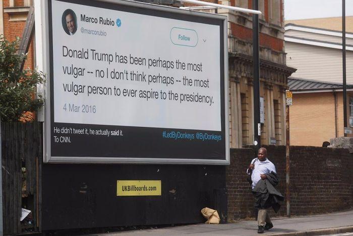 22 meilleures façons dont les Britanniques ont répondu à la visite de Trump