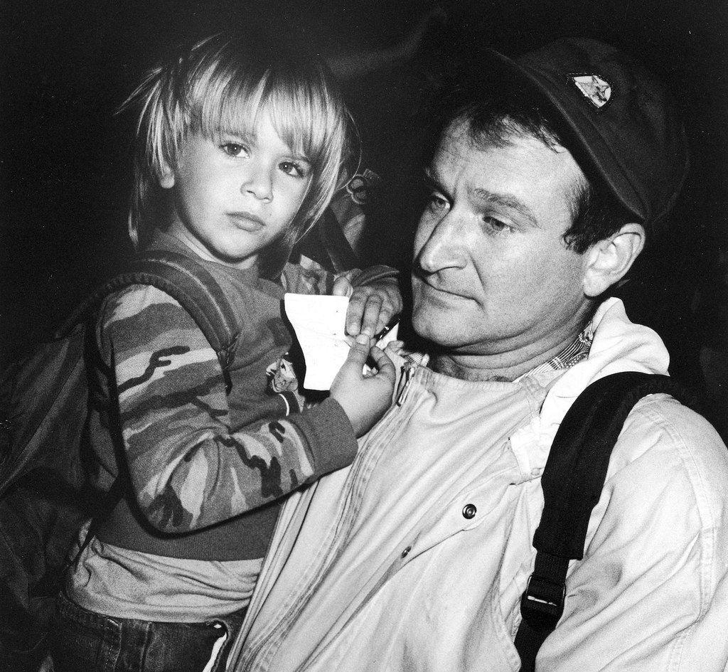 Le fils de Robin Williams a donné le nom de son père à son fils nouveau-né