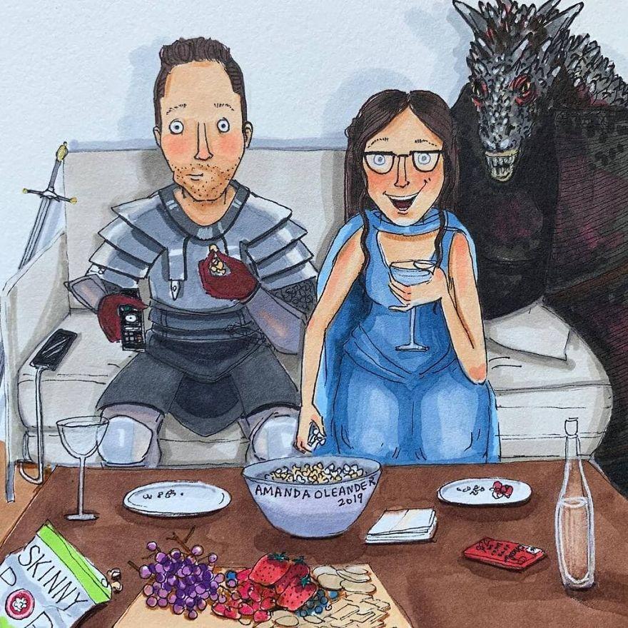 22 illustrations honnêtes qui montrent ce qui se passe derrière les portes closes de chaque relation