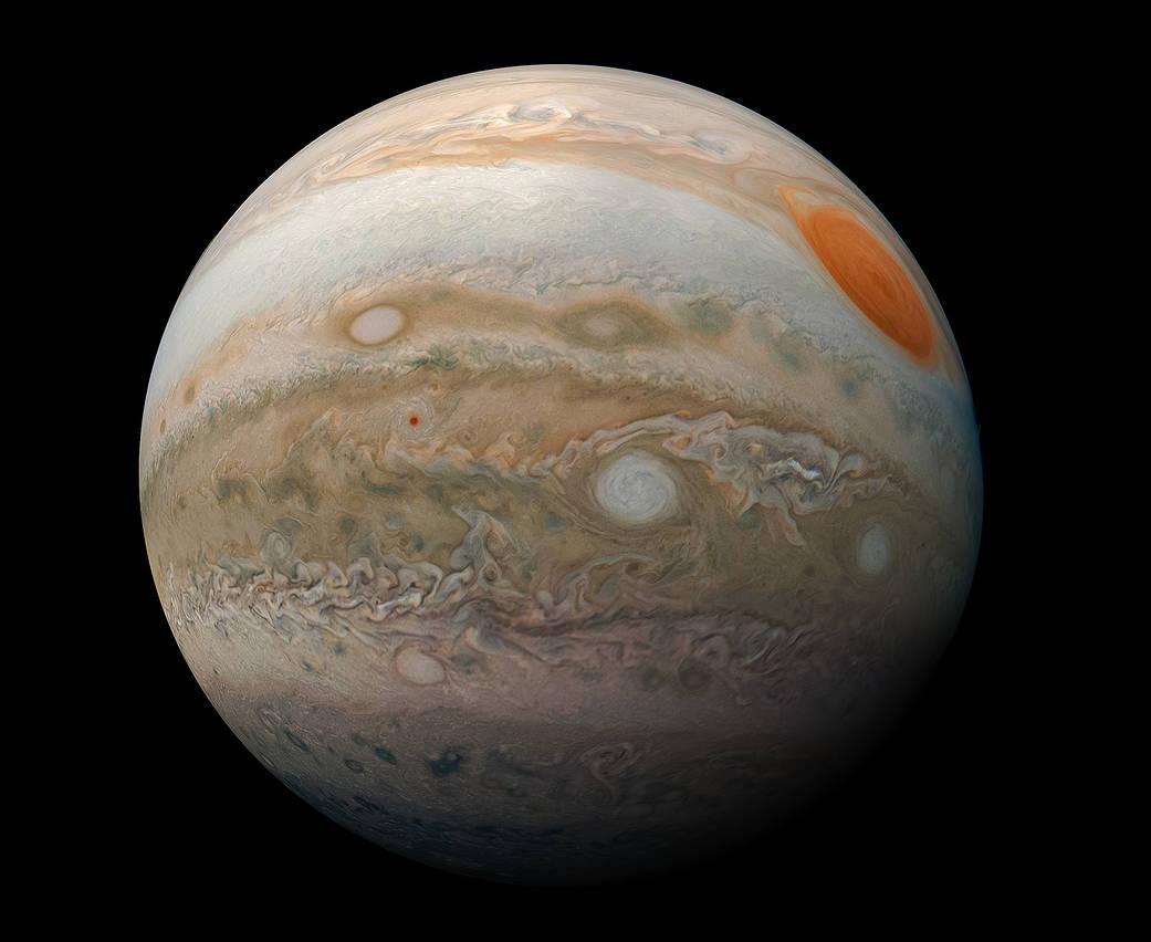 Jupiter sera si près de la Terre ce mois-ci que ses plus grandes lunes seront visibles à l'aide de jumelles