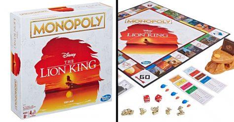 Tu peux maintenant jouer à l'édition «Le Roi lion» de Monopoly