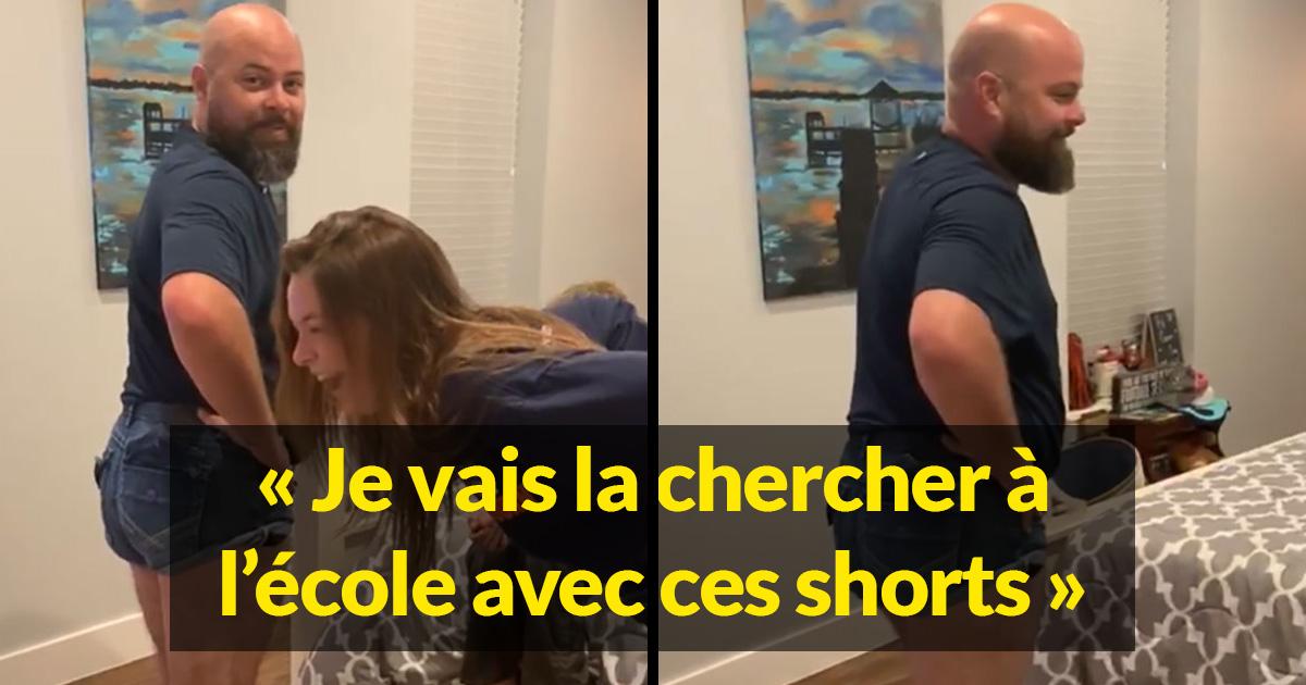 Ce papa a enfilé des mini shorts pour prouver quelque chose à sa fille