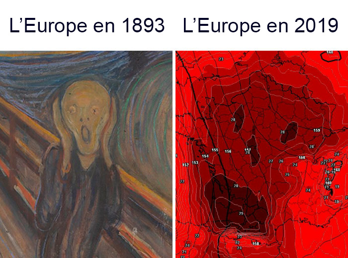 15 meilleures réactions des Européens face à la canicule record