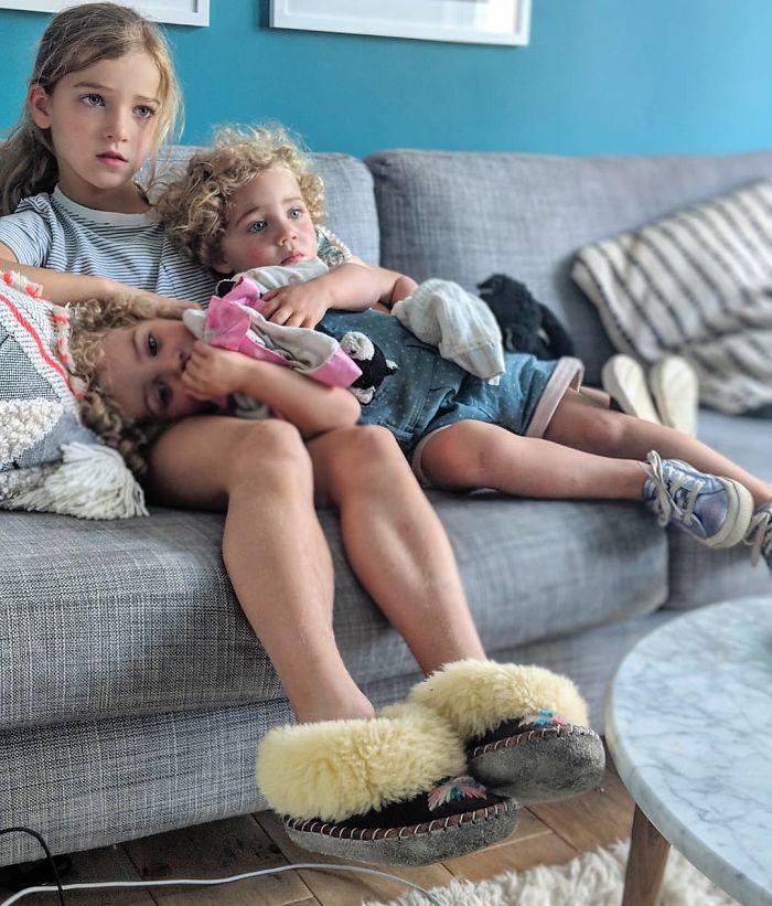 Ce père de quatre filles refuse d'édulcorer ses photos Instagram et il a déjà près d'un million d'abonnés (30 images)