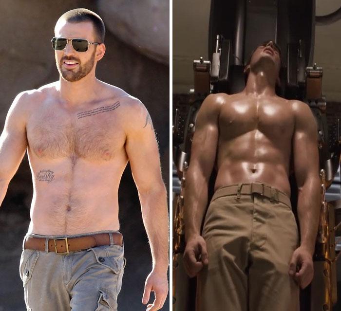 8 acteurs et leurs corps avant et après avoir reçu un appel de Marvel