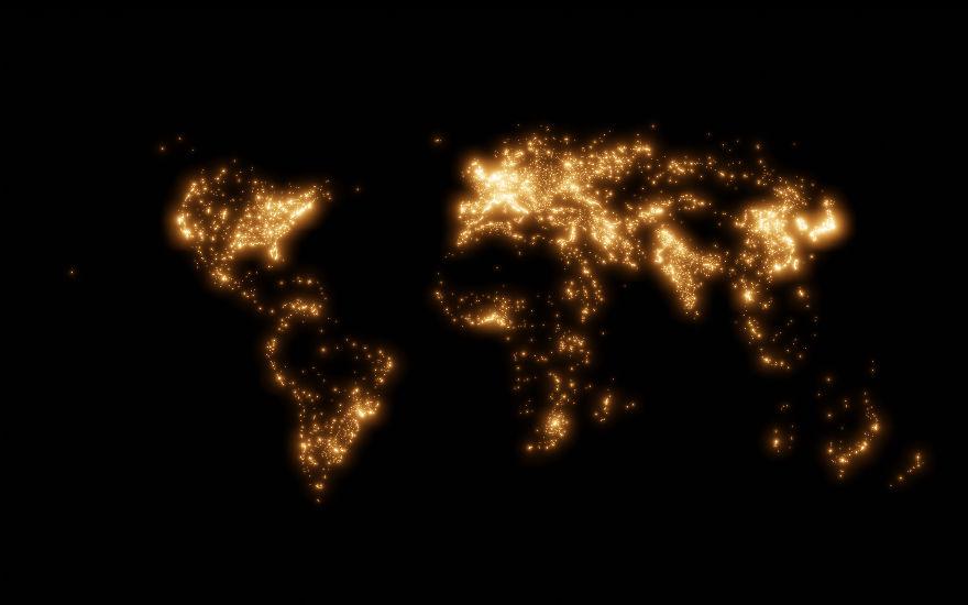 J'ai créé 5 cartes qui montrent à quel point notre monde est petit