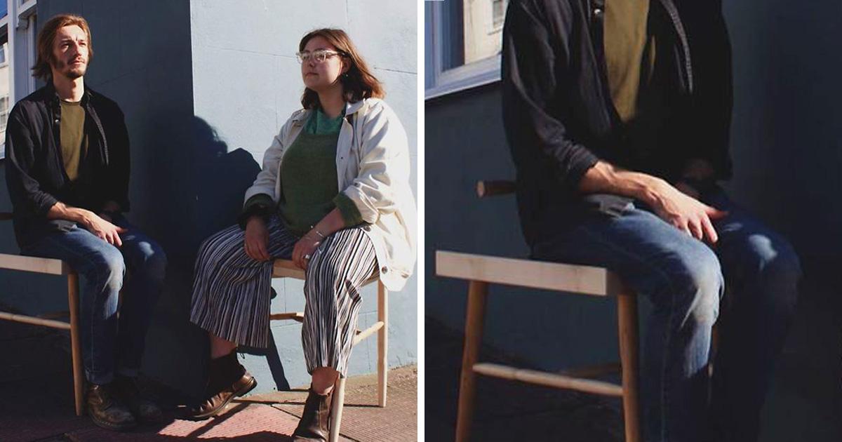 Cette féministe a conçu une chaise qui empêche le «manspreading» et a remporté un prix de design
