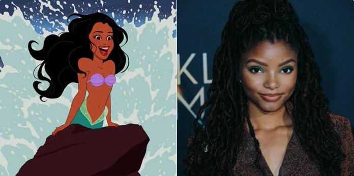 Disney a annoncé que Halle Bailey jouera le rôle d'Ariel dans le remake de «La Petite Sirène»