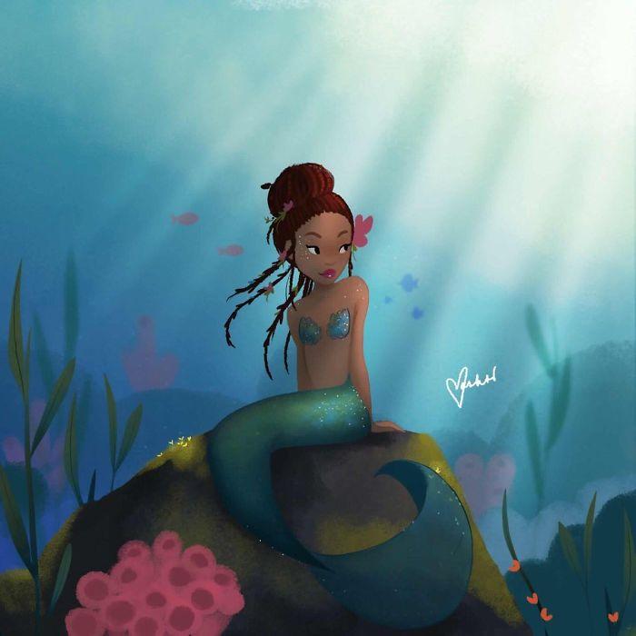 25 fans qui ont inondé Internet d'oeuvres d'art quand Disney a annoncé la nouvelle Ariel
