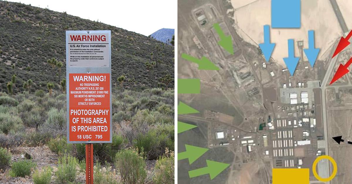 470 000 personnes qui planifient envahir Area 51 ont élaboré un plan diabolique