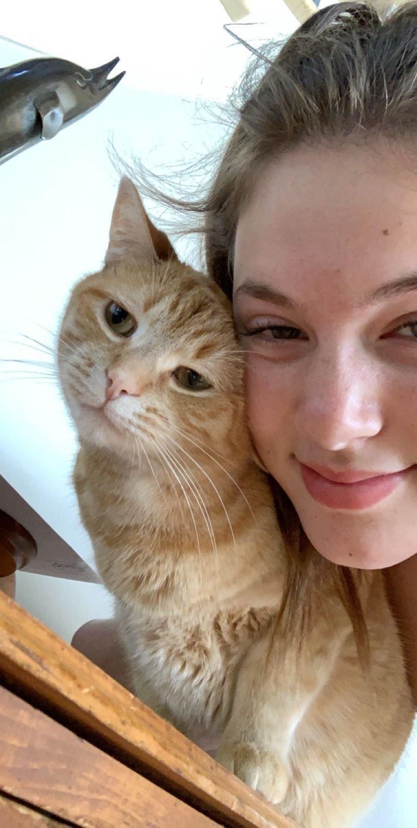 Cette fille de 17 ans a réalisé une vidéo hilarante de son chat qui danse sur «Mr. Sandman» et 1,5 million de personnes l'adorent