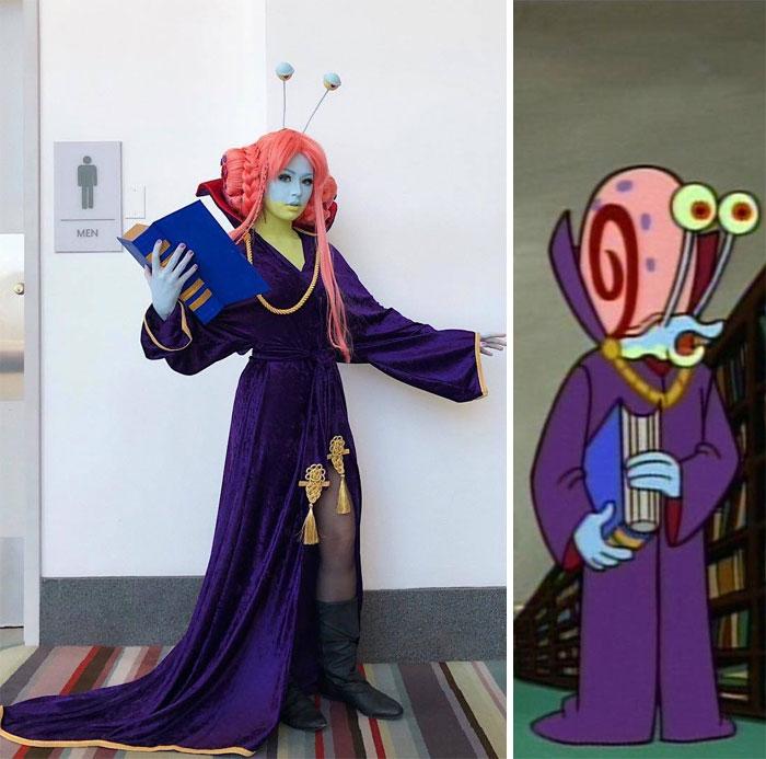 22 costumes insolites par une cosplayeuse hilarante
