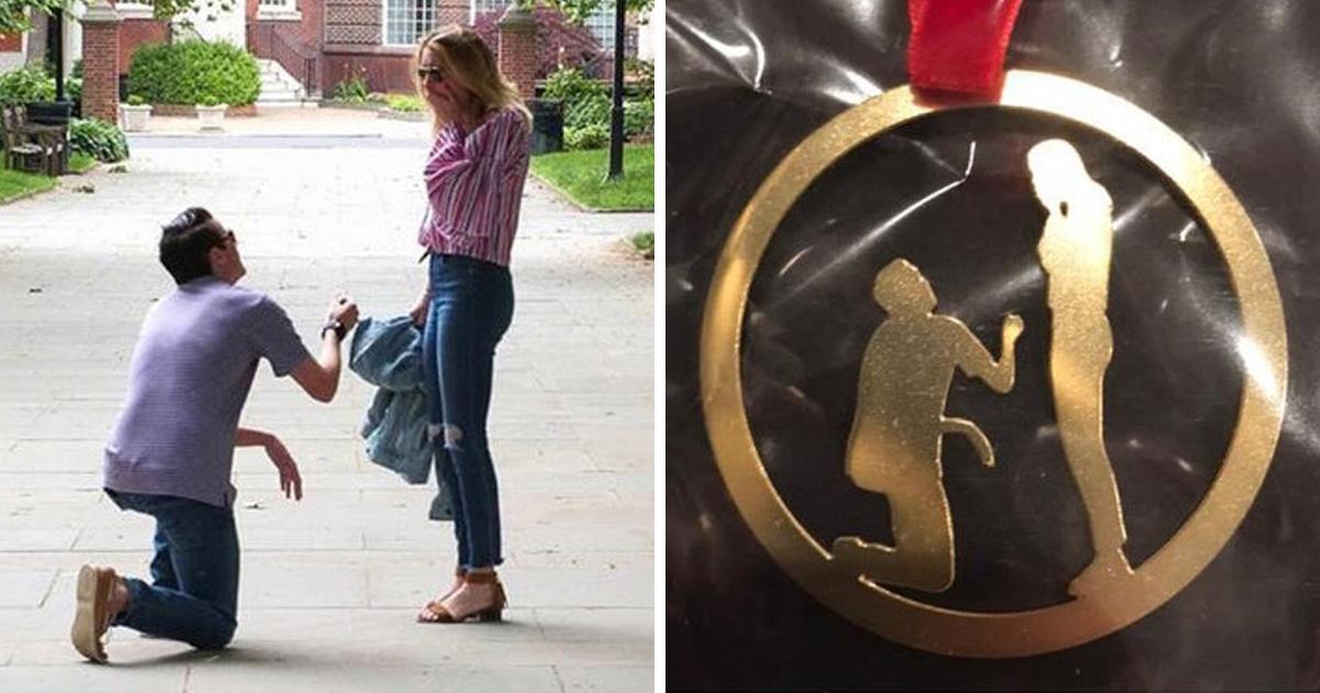 Une belle-mère a donné à de jeunes mariés une sculpture grossière de la demande