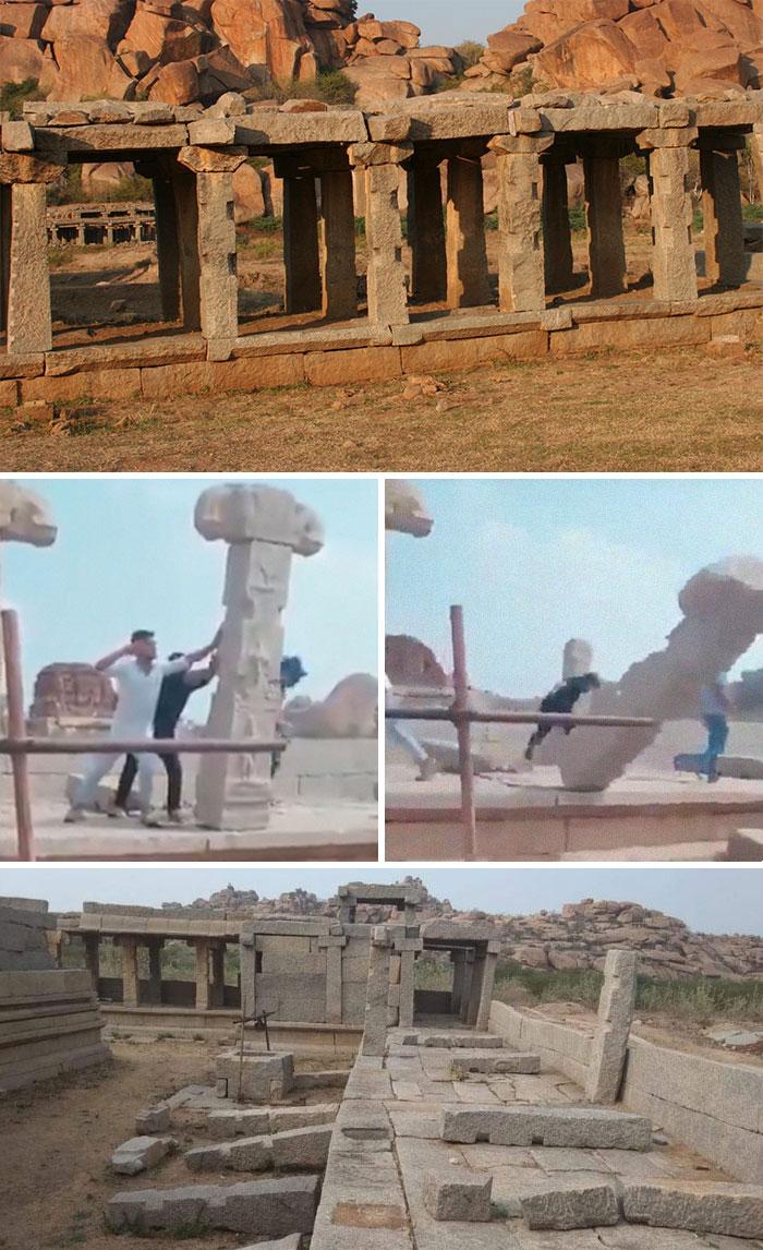 22 enfoirés de touristes qui n'ont aucun respect pour les lieux qu'ils visitent