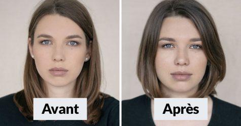 33 femmes ont été photographiées avant et après être devenues maman