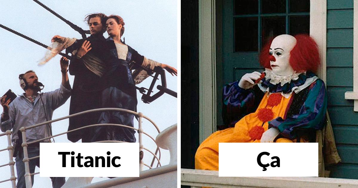 22 photos qui montrent ce qui s'est passé dans les coulisses de films célèbres