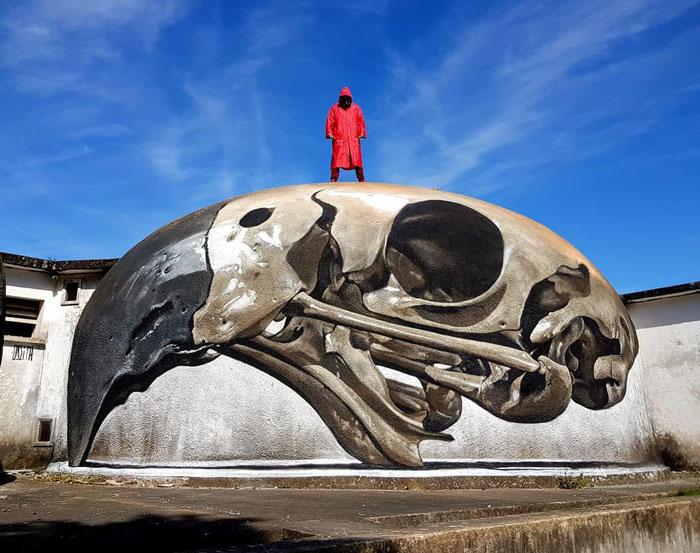 16 oeuvres 3D de street art à couper le souffle par Odeith