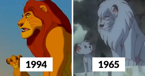 Disney a été accusé d'avoir volé l'idée du «Roi Lion» au «Roi Léo» et certaines comparaisons image par image sont convaincantes