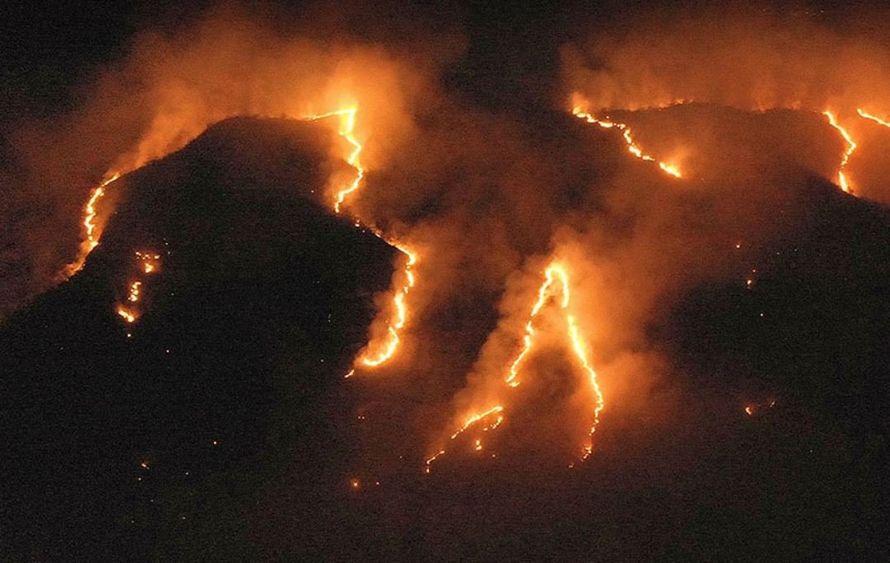 Les dernières images de la NASA depuis l'espace montrent à quel point les feux de forêt en Amazonie sont dévastateurs