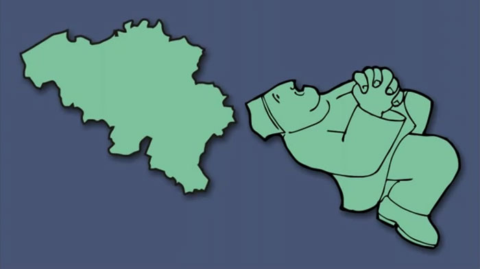 Ce gars a redessiné la carte de l'Europe en imaginant à quoi ressemblent les pays (30 images)