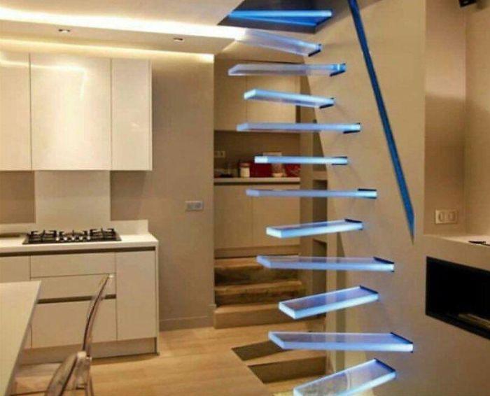 22 pires designs d'escaliers de tous les temps qui pourraient entraîner de graves blessures